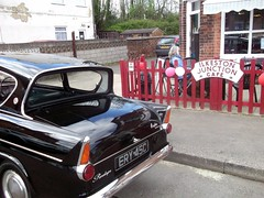 Ilkeston Junction Cafe & Penelope (Bringing the past to the modern) Tags: notes andpeopletagspeopleyoufollowsetsafetylevelsafef ilkeston cafe junction station anglia ford ery45c 105e deluxe 1965 1960s classic car motoring carlife restoration headlamps shiny photoshoot photography nikon d750 sigma 150600mm contempory lens photo driveway house english british award winner exgov garry froggat derbyshire nottingham tatton mansion knutsford royal green scenery joseph frederickthomas gabrielli trees van woodland grass driving tyres gentleman