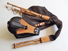 Double Chanter Hümmelchen (Bagpipe Maker T. Sonoda) Tags: hümmelchen bagpipe smallpipes dudelsack sackpfeife gaita cornemuse musette dudy germany bayern münchen erding landshut