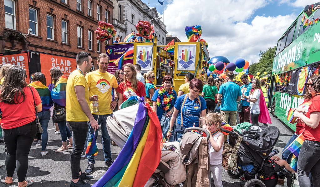 LGBTQ+ PRIDE PARADE 2017 [STEPHENS GREEN BEFORE THE ACTUAL PARADE]-129905
