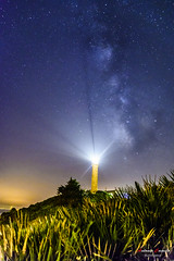 Faro de Punta Carnero. Algeciras (Antonio Camelo) Tags: nikon night noche via lactea milky way faro lighthouse algeciras