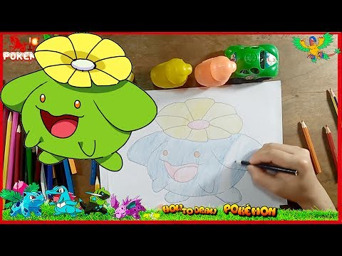 How To Draw Cute Cartoon Pokemon Learn Colors Kid Toys Coloring Pages Creative For Kids