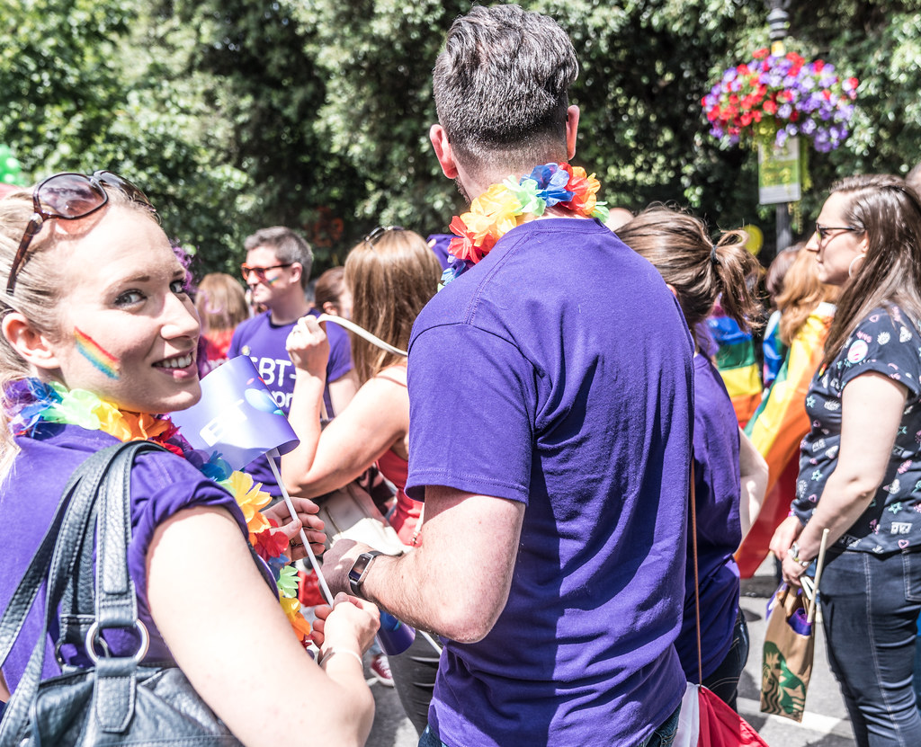 LGBTQ+ PRIDE PARADE 2017 [STEPHENS GREEN BEFORE THE ACTUAL PARADE]-129910