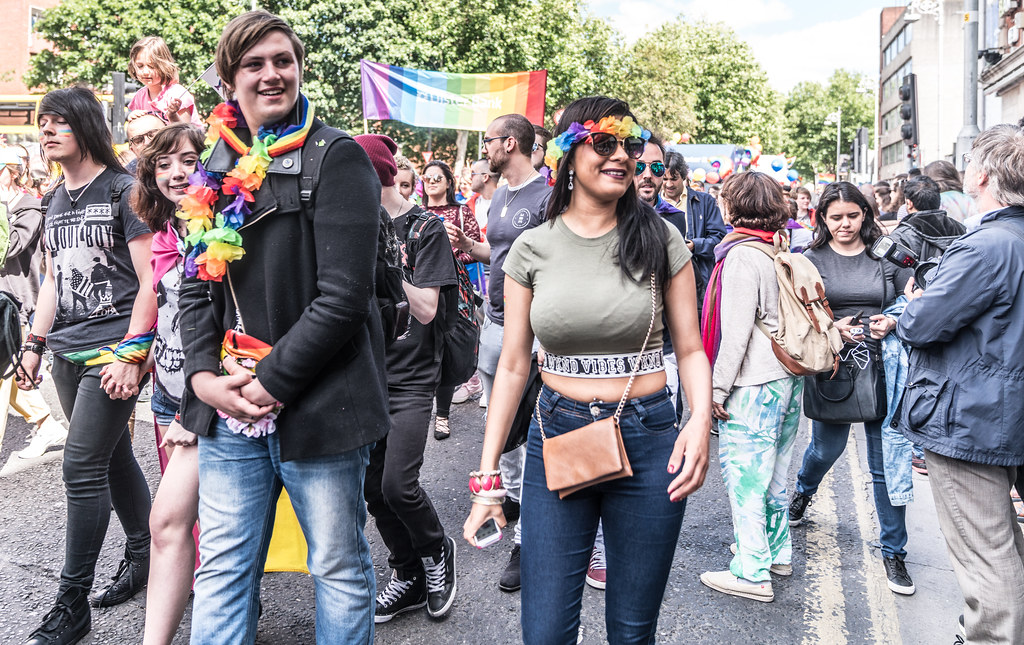 LGBTQ+ PRIDE PARADE 2017 [ON THE WAY FROM STEPHENS GREEN TO SMITHFIELD]-130163