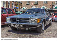 Mercedes 350 SLC (Paul Simpson Photography) Tags: mercedes350slc mercedes paulsimpsonphotography gainsborough carshow transport classiccar 1970s sonya77 june2017 transportshow german merc photosof photoof imagesof imageof 1972mercedes carsofthe1970s lincolnshire westlindsey