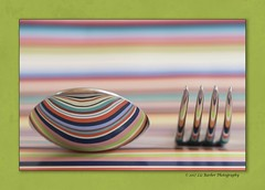 176/365 (Liz Barber) Tags: stripes spoon fork reflections
