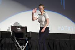 Betty Gilpin (TheGeekLens) Tags: atxtvfestival atx television festival 2017 austin texas panel screening alamodrafthouse glow netflix bettygilpin