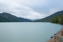 Lake in Washington (Photos By RM) Tags: longexposure lake mountain washington filter leebigstopper daytime water blue america