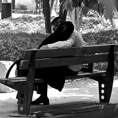Iran 2017 - Shiraz (philippebeenne) Tags: iran perse shiraz couple amoureux noiretblanc