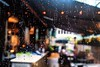 rain bokeh (-liyen-) Tags: bokeh rain restaurant window blur drops fujix100f urban city street hbw challengeyouwinner cyunanimous