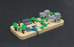 We Will Fight Them on the Beaches (Grantmasters) Tags: star wars micro lego scarif rogue one atact