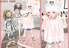 Little Friends Ft: Lazo, Boogers, VK, TD, Toodleedoo (-| A V | S A G E |- Sabby / Kumiko) Tags: vk td toddleedoo toola loola lazo boogers wasabi pills mesh bento ninetynine chapter4 thechapterfour summer body secondlife baby toddler