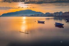 Sunrise II (Michele Naro) Tags: sunrise trapani alba sicily sicilia sizilien sicile sea samyang14mmf28 see italien italy italia italie iamnikon nikond610