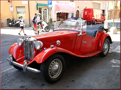 MG/Salo/Italy (mhobl) Tags: car red mg salo italien italy