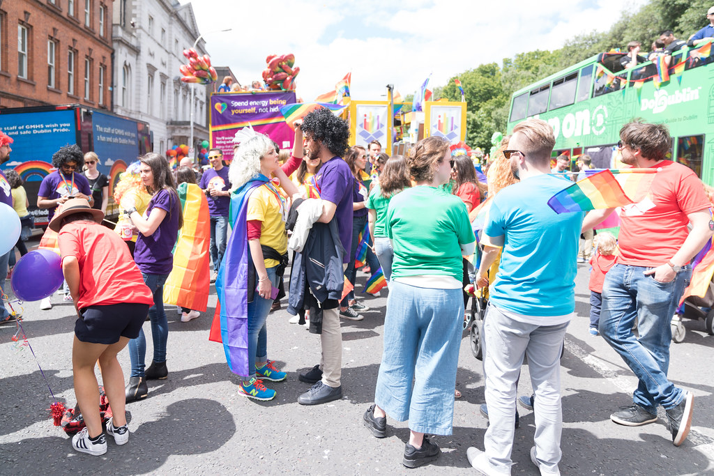 LGBTQ+ PRIDE PARADE 2017 [STEPHENS GREEN BEFORE THE ACTUAL PARADE]-129902