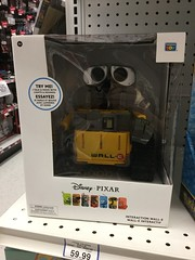 Disney PIXAR Interaction WALL-E (splinky9000) Tags: kingston ontario toys r us disney pixar interactive walle robot thinking toy