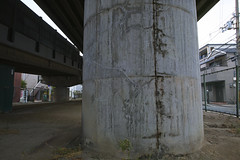 20170626_DP0Q1793-SFD (NAMARA EXPRESS) Tags: street underbridge bridge pillar concrete construction structure scribble tripod sfd superfinedetail daytime summer cloudy outdoor color spp spp653 foveonclassicblue toyonaka osaka japan foveon x3 sigma dp0 quattro wide ultrawide superwide namaraexp