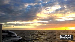 Breathtaking 1 Hour Tampa Bay Florida Sunset & Dusk In 15 Seconds Music Video - IMRAN™ (Explored!!)