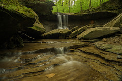 Blue Hen Falls (+Lonnie & Lou+) Tags: ohio nature landscape travel forest rural sony nisi cuyahoga longexposure polarizer green summer spring cleveland