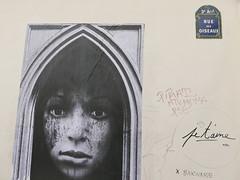 Rue des Oiseaux (neppanen) Tags: sampen discounterintelligence paris pariisi france ranska ruedesoiseaux streetart katutaide pasteup mtv pirat psg mdma barbabe