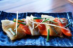 20170626-10-Kingfish and salmon sashimi at Bar Wa Izakaya in Hobart (Roger T Wong) Tags: 2017 australia barwaizakaya hobart iv japanese metabones rogertwong sigma50macro sigma50mmf28exdgmacro smartadapter sonya7ii sonyalpha7ii sonyilce7m2 tasmania fish food izakaya kingfish lunch salmon sashimi seafood
