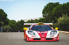 Because Racecar (Gaetan | www.carbonphoto.fr) Tags: mclaren f1 gtr longtail 24r supercar hypercar car coche auto automotive fast speed exotic luxury great incredible worldcars carbonphoto castellet england english woking emi