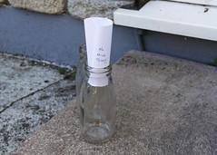 187/365 Doorstep Delivery (Helen Orozco) Tags: milk 2pints doorstep delivery milkbottles empties note milkman 2017365 canonrebelsl1 nostalgia
