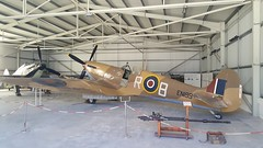 Spitfire, Malta Aviation Museum. (Robert G Henderson (Romari).) Tags: samsung galaxy s6 mobile phone