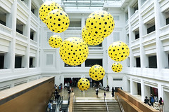 Yayoi Kusama Exhibition (Bugtom) Tags: yahoo yayoikunama exhibition nationalgallery singapore museums museum polkadots