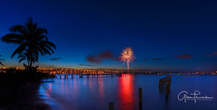 Florida Life: Independence Day (Thūncher Photography) Tags: sony a7r2 sonya7r2 ilce7rm2 zeissfe1635mmf4zaoss fx fullframe longexposure scenic landscape waterscape colors reflections fireworks july4th independenceday shadows silhouettes tropical palmtrees stuart florida southeastflorida martincounty indianriver