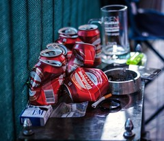 Summer time (Vali P92) Tags: beer cerveza bere verano summer vară vicios vicii sony a55 50mm 18