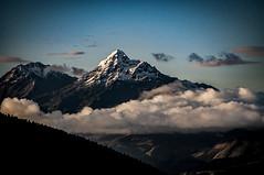 Los Illinizas (pedro katz) Tags: ecuador illinizasur illinizanorte snowmountain clouds