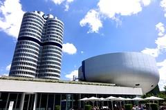 BMW Hochhaus DSC09058 (Chris Belsten) Tags: design munich münchen deutschland bmwwelt metal industrialdesign industrialarchitecture architecture coophimmellau bmwag industry bmw stockcategories