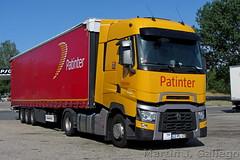 RENAULT T 450 HIGH SLEEPER CAB (P) (Martin J. Gallego. Siempre enredando) Tags: truck truckspotting canon canonsx220 camion lorry renault renaultvi renaulttrucks renaultt patinter 100v10f