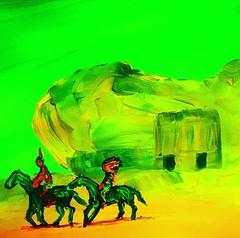 #originalart #originalpainting #by #gregggriffin #oklahoma #artist #artshow #artwork #art🎨 #artbasel #contemporaryart #artforsale #modernart #comics #horse #horseriding #desert #landscape #nativeamerican #americanindian #indian #neon #newart #fineart (Gregg Griffin) Tags: instagramapp square squareformat iphoneography uploaded:by=instagram clarendon