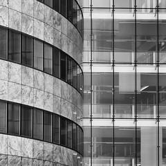 Modernism n6 (PeteZab) Tags: square blackwhite bw mono office moderncurve line contemporary buildin architecture peterzabulis petezab