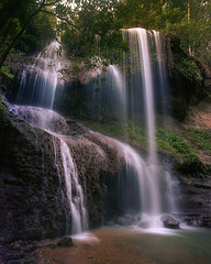 Salto Patrón (Eddie La Mole) Tags: saltopatrón morovis puertorico waterfall nature pentax6x7 pentaxsmc45mm kodakektar