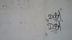 Doom (Randall 667) Tags: rhode island graffiti street art artist writer tagger doom satanic cross
