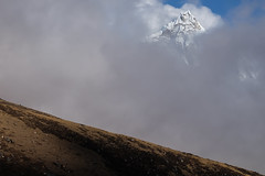 EverestTrek266 (Bobby's Road Photography) Tags: nepal mountain himalayas nature outdoor asia snow peak sky cloud cold altitude everest trekking