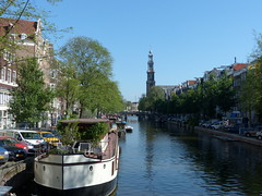ebenfalls die Gracht entlang-also along the gracht (Anke knipst) Tags: amsterdam holland niederlande netherlands prinsengracht westerkerk