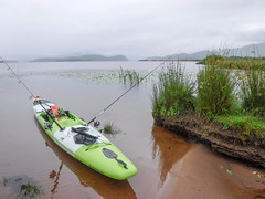 Pride and joy (Nicolas Valentin) Tags: stealthkayak stealth scotland ecosse kayakfishing green loch lomond cloud landscape