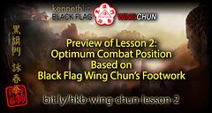 Wing Chun Stance and Footwork using Optimum Body Positioning from Black Flag Wing Chun (Hek Ki Boen Eng Chun) Tags: ip man wing chun yip donnie yen black flag hek ki boen