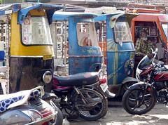 jodhpur 2015 (gerben more) Tags: rikshaw rikshawdriver autorikshaw motorcycle jodhpur rajasthan blue colours india beard man