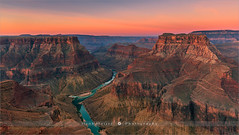 The Confluence - Grand Canyon N.P - Arizona (~ Floydian ~ ) Tags: henkmeijer floydian photography arizona confluencepoint grandcanyon theconfluence eastrim unitedstates nationalpark american southwest desert sunrise dawn morning landscape landscapes coloradoriver littlecoloradoriver landmark leefilters canon canon5dmarkiv