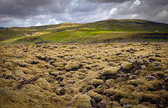 Eldhraun Lava Field (Jack Landau) Tags: eldhraun lava field moss lichens iceland landscape mountains clouds hills nature jack landau