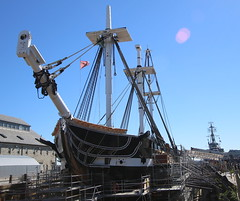 USS Constitution (emmaellathomas) Tags: bostonmassachusetts warof1812 drydock georgewashington frigate