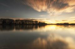 Sunset (Stéphane Sélo Photographies) Tags: france pentax pentaxk3ii saône ain blending coucherdesoleil eau fleuve landscape paysage river rivière sunset water