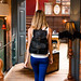Black Leather Backpack: Follow Me To...