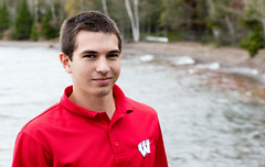 149:365 - Senior Picture (LostOne1000) Tags: pentax2470f28edsdm seniorpicture 3652017 day149365 29may17 365the2017edition lakesuperior pentax cy365 pentaxk3ii boy red lakelinden michigan unitedstates us