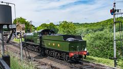 SVR 01 June 2017 (50) (BaggieWeave) Tags: worcestershire shropshire svr severnvalleyrailway heritagerailway vintage steam steamengine steamlocomotive steamtrain gwr greatwesternrailway 280 28xx highley signal 2857
