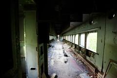 They're all gone (aleadam) Tags: train abandoned ruin empty alone forgotten dark darkfeelings 7dwf sentimientososcuros shadow contrast mood lonely urbex aleadam alejandroadam